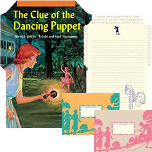 Nancy Drew Fold and Mail Stationery - S-1